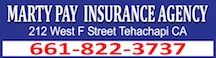 Marty Pay Insurance Logo